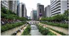 Prefeitura de Seul, na Coréia do Sul, descanaliza rio, despolui os córregos e cria parque linear. Uma obra-prima urbanística!
