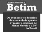 Estudos Municipais 2 - Betim: avanços e desafios da 2ª maior economia de Minas e 20ª do Brasil