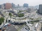 Seul transforma uma via elevada em um original jardim urbano