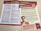 Deputada Marília Campos (PT/MG) lança jornal sobre a reforma da Previdência dos segurados do INSS e dos servidores Públicos