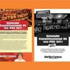 PANFLETO EMENDA CONSTITUCIONAL 95