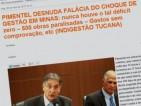 5.Minas nunca teve déficit zero. Dívida cresceu de R$ 34,700 bilhões para R$ 93,730 bilhões nos governos do PSDB