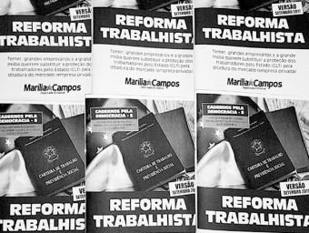 Deputada Marília Campos (PT/MG) lança uma cartilha abrangente sobre a reforma trabalhista