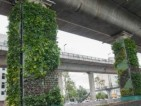 """Mara Gama: """"Cidade do México inaugura polêmicos jardins verticais sob elevado"""""""