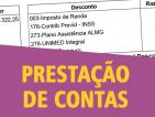 50ª prestação de contas: março/2019. Deputada Marília Campos (PT/MG).