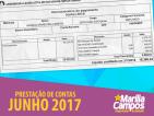 DEPUTADA MARÍLIA CAMPOS (PT/MG). 41ª PRESTAÇÃO DE CONTAS JUNHO/2018.