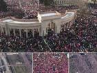 As mulheres lideraram gigantescas manifestações contra Donald Trump
